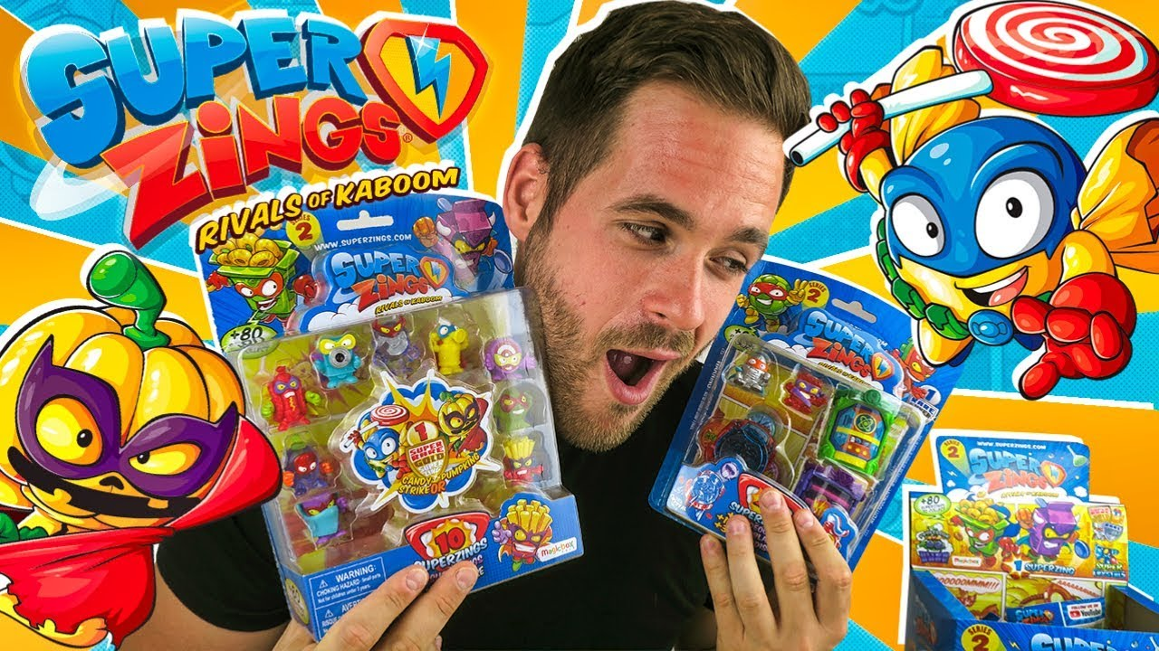 juguetes súperzings