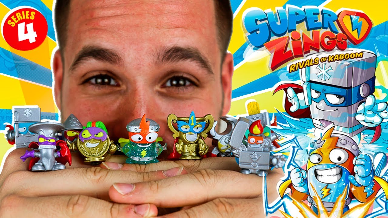 SuperZings serie 4 Kid Kazoom