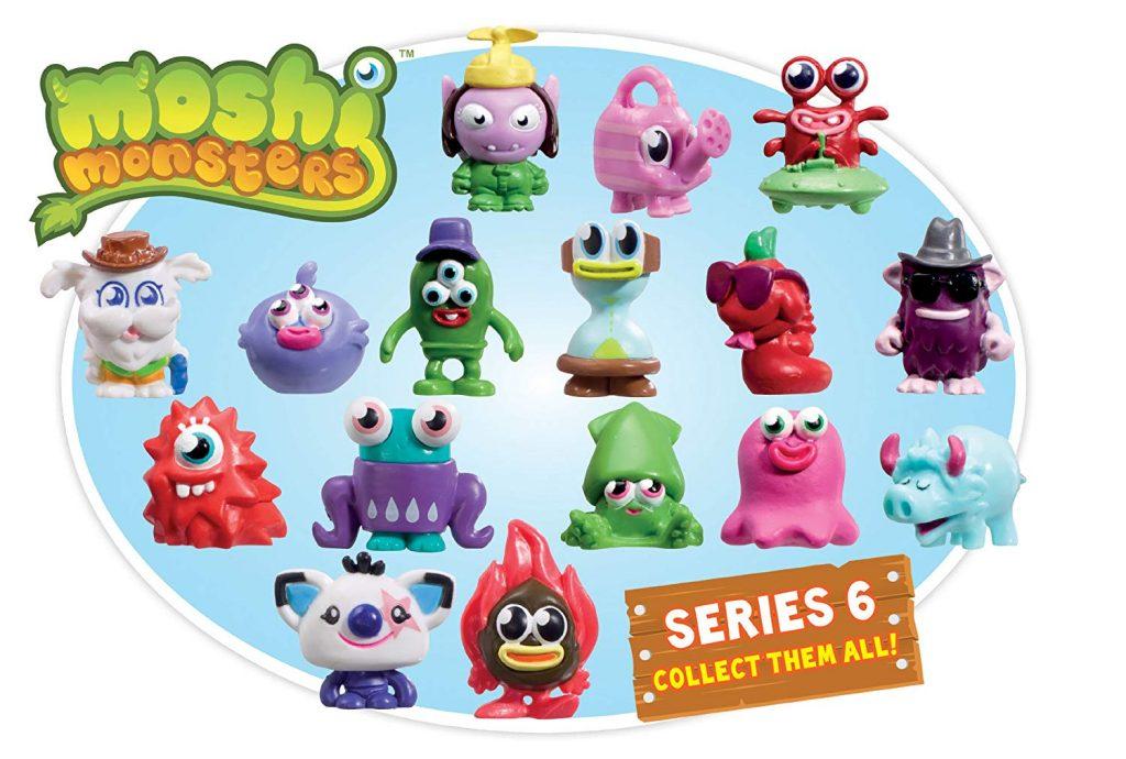 Los personajes de los Moshi Monsters