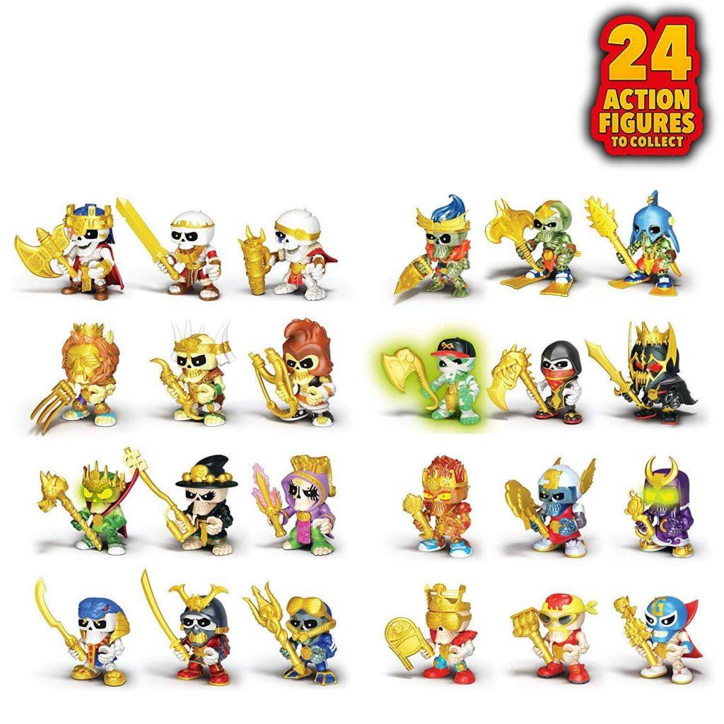 Todas las figuras de los Treasure X