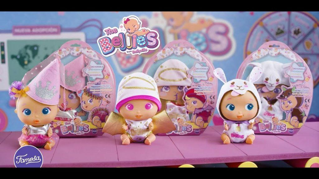 Modelos de los muñecos bellies