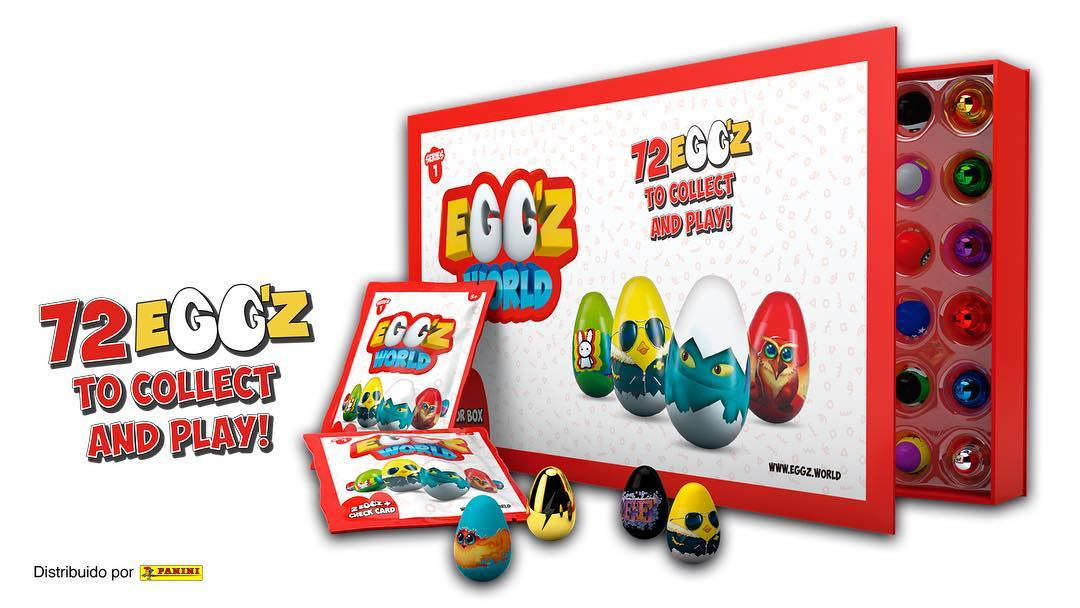 divertirse con los Egg´z World