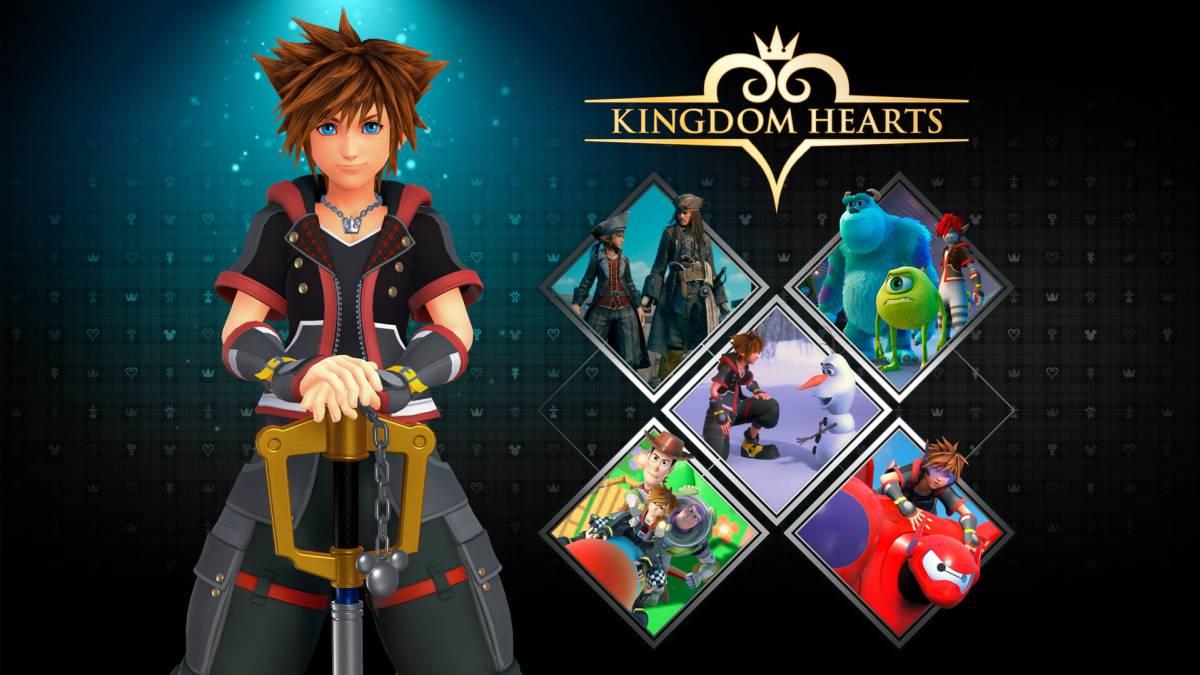 Colección de Juegos de los Kingdom Hearts