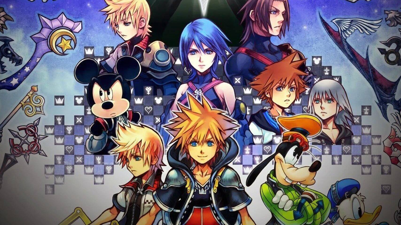Todas las Figuras de los Kingdom Heart